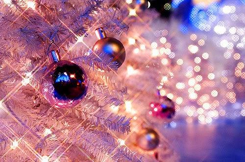 Pink Christmas Decorations Wallpaper