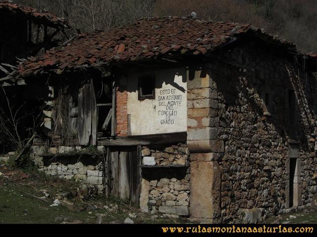 Ruta Linares, La Loral, Buey Muerto, Cuevallagar: Casas de Santo Adriano del Monte