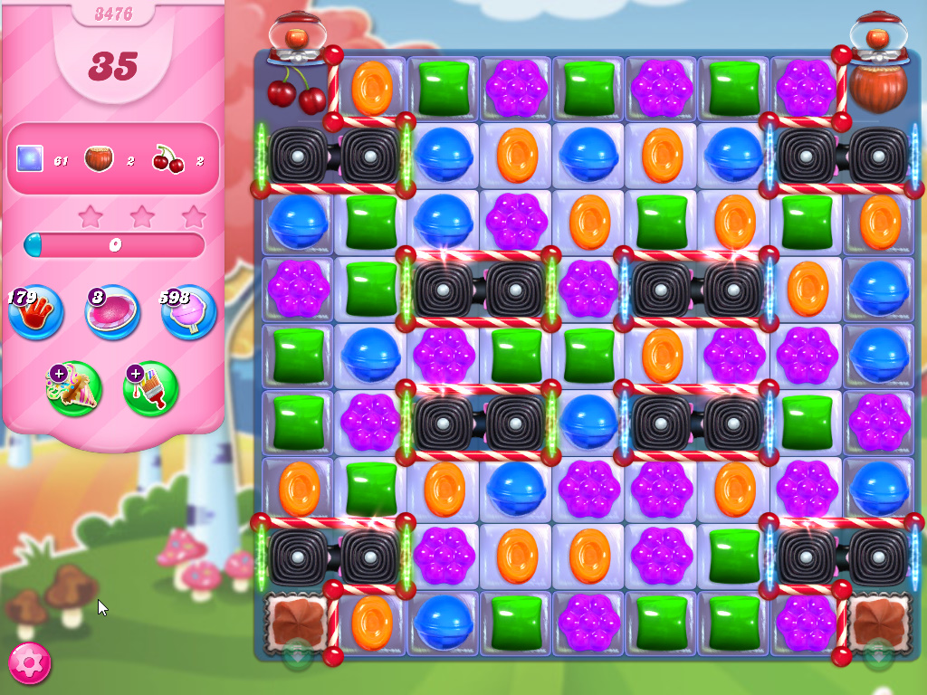 Candy Crush Saga level 3476