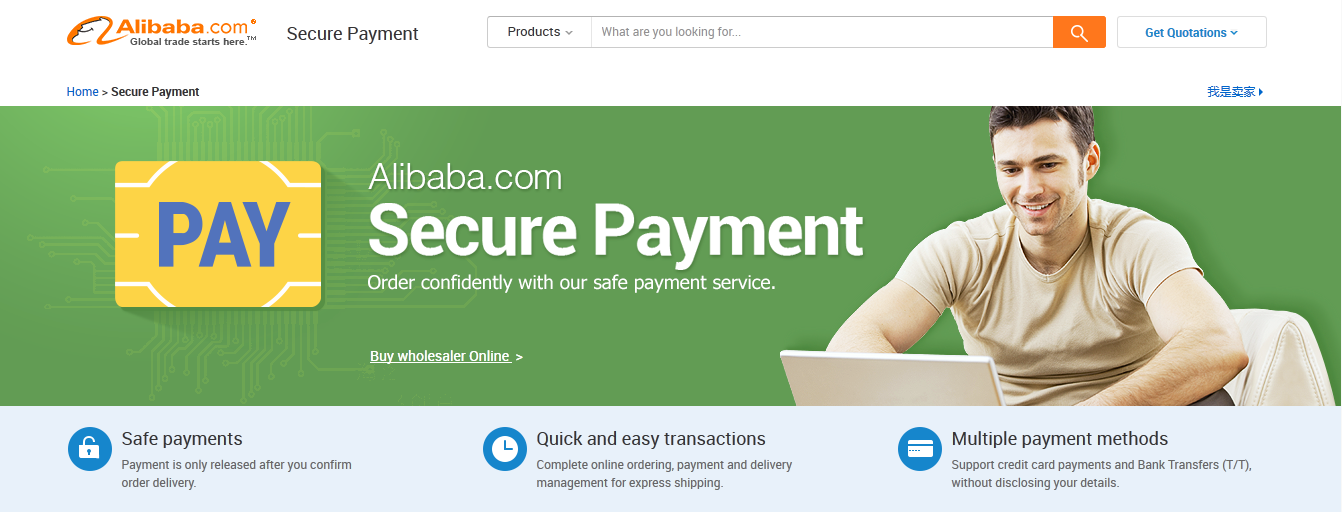 how to pay on alibaba trade assurance