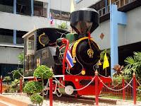 Old Locomotive at Hat Yai