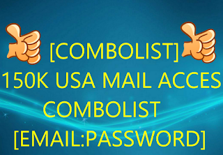 [COMBOLIST] 150K USA MAIL ACCESS COMBOLIST [EMAIL:PASSWORD]