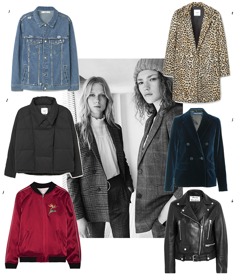 Fall Guide: Jackets To Buy