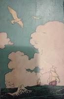 Geografia de Dona Benta. Monteiro Lobato. Editora Brasiliense. Augustus (Augusto Mendes da Silva). Contracapa de Livro. Década de 1950. Década de 1960.