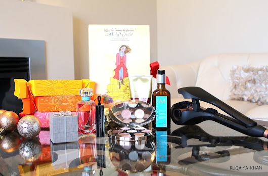 HOLIDAY BEAUTY FAVORITES ft. Tiffany & Co., L'Occitane, Givenchy, Becca, Moroccanoil, Conair Infiniti Pro, Joico and more