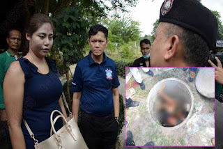 Photos: Jealous 22-year-old wife stabs her husband, 62, to death because she found a condom in his pocket; dumps body into septic tank