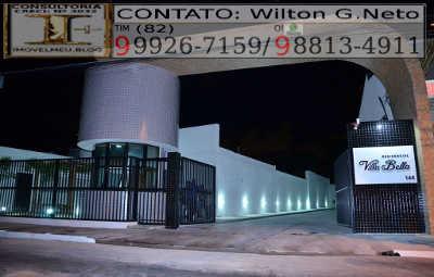 Guarita de segurança e entrada do Apartamentos, Edf. Res. Villa Bella, 2 quartos, 56 m², bairro Poço, Maceió- AL.