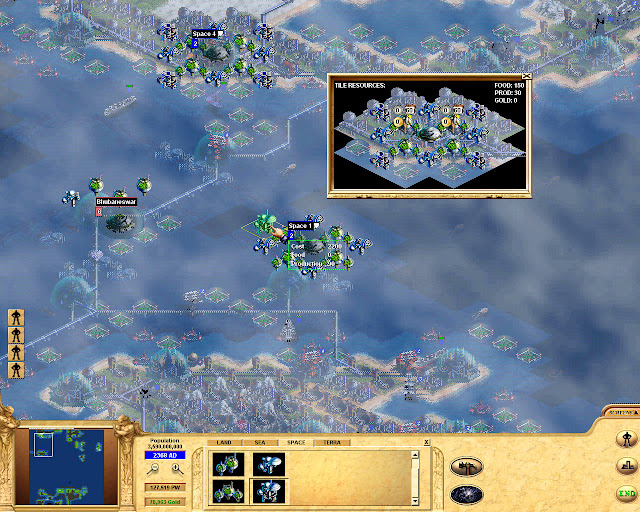 Civilization: Call to Power space city