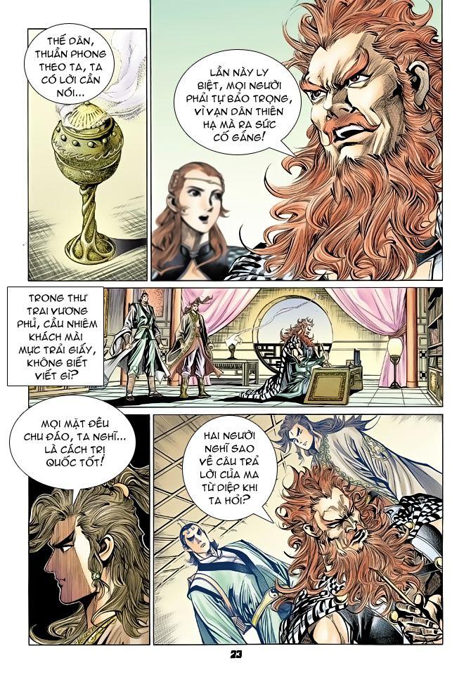 Đại Đường Uy Long chapter 69 trang 21