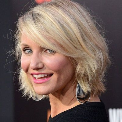Phenomenal Cool And Cool Cameron Diaz Bob Hairstyles Short Hairstyles For Black Women Fulllsitofus