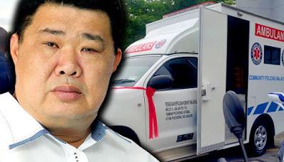 mr potato,ambulan 10sen,free ambulan,jkm malaysia,orang baik