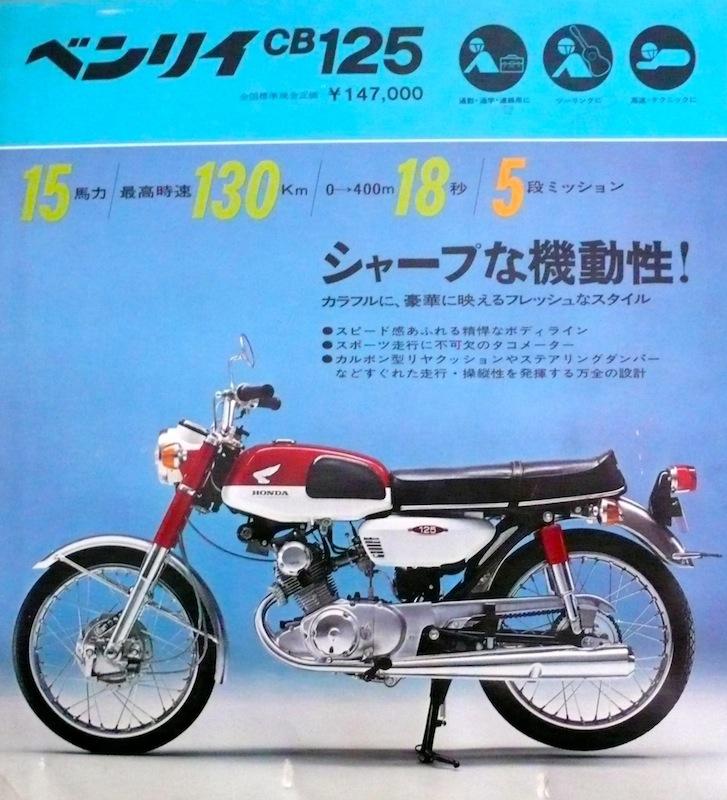 Brosur Honda CB125 Twin Brochure 1