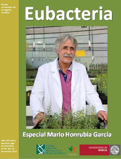 """Eubacteria: """"Mario Honrubia, trayectoria de un biólogo"""""""