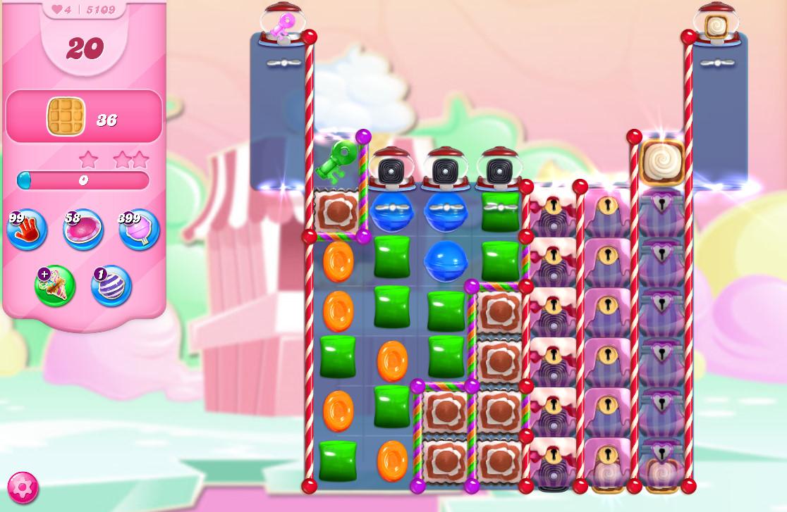 Candy Crush Saga level 5109