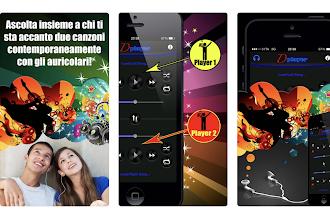 OGGI GRATIS: App per ascoltare 2 diversi brani contemporaneamente, uno per auricolare
