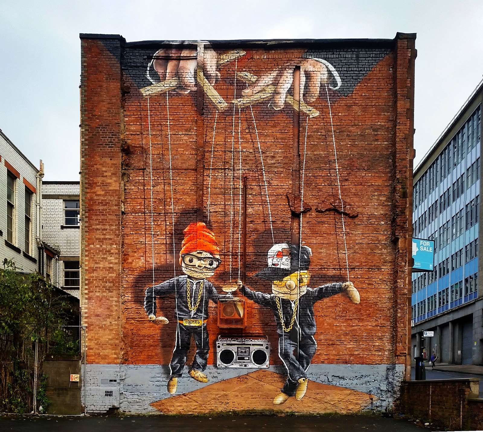 Rogue-One, Hip Hop Puppets, Glasgow