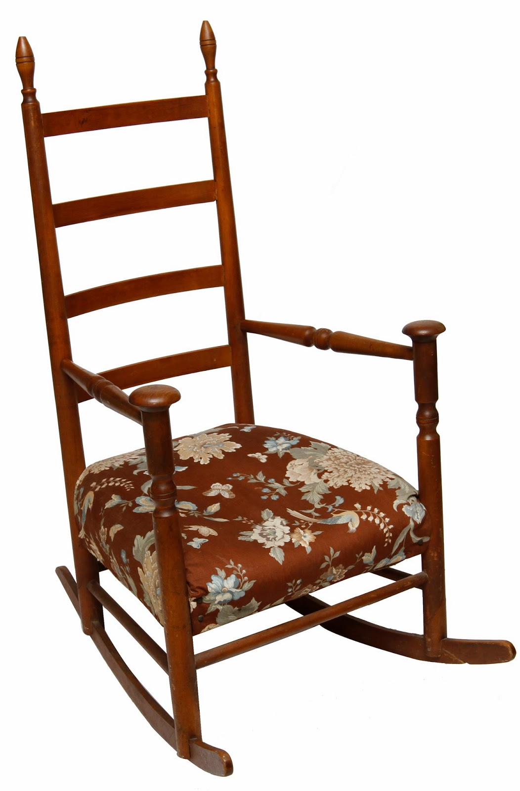 Antique Shaker Mushroom Cap Arm Chair Rocker | Grandma's ...