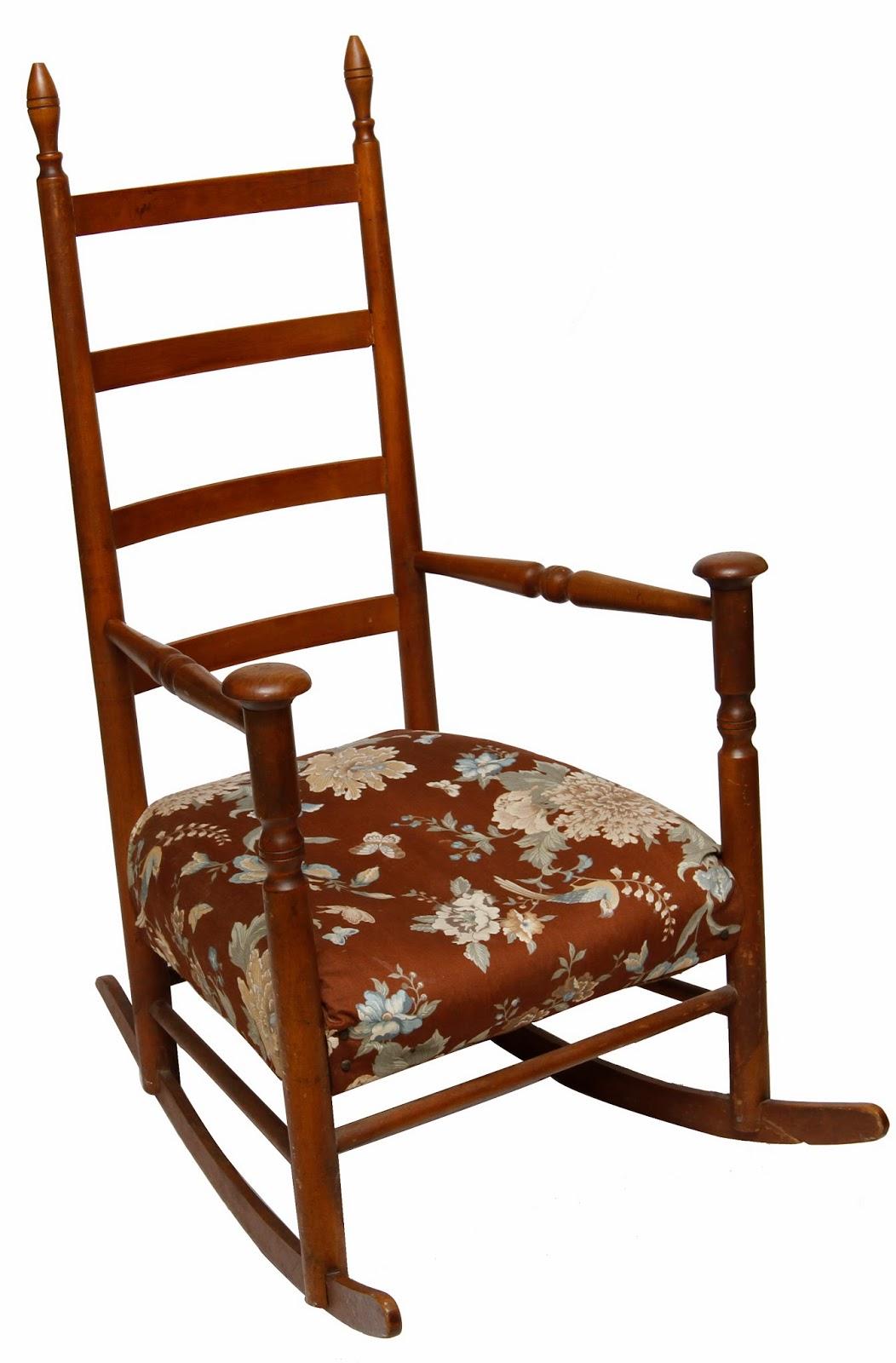 Antique Shaker Mushroom Cap Arm Chair Rocker | Grandma's ...