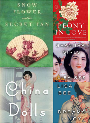 Lisa See book covers