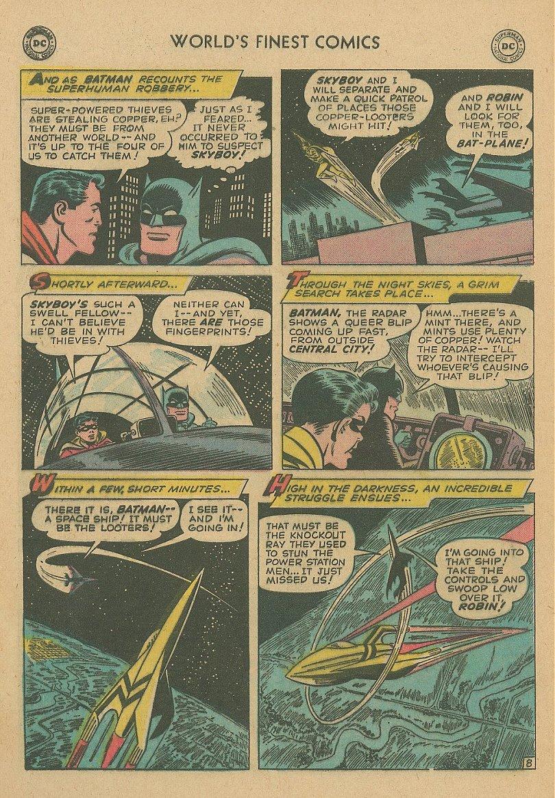 Read online World's Finest Comics comic -  Issue #92 - 23