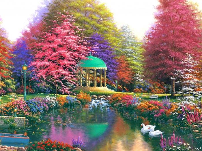 لوحات فنية رائعة للطبيعة الساحرة 2020 Beautiful Nature Painting