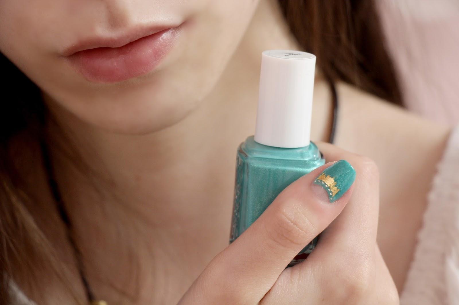 Jasmine inspired nails