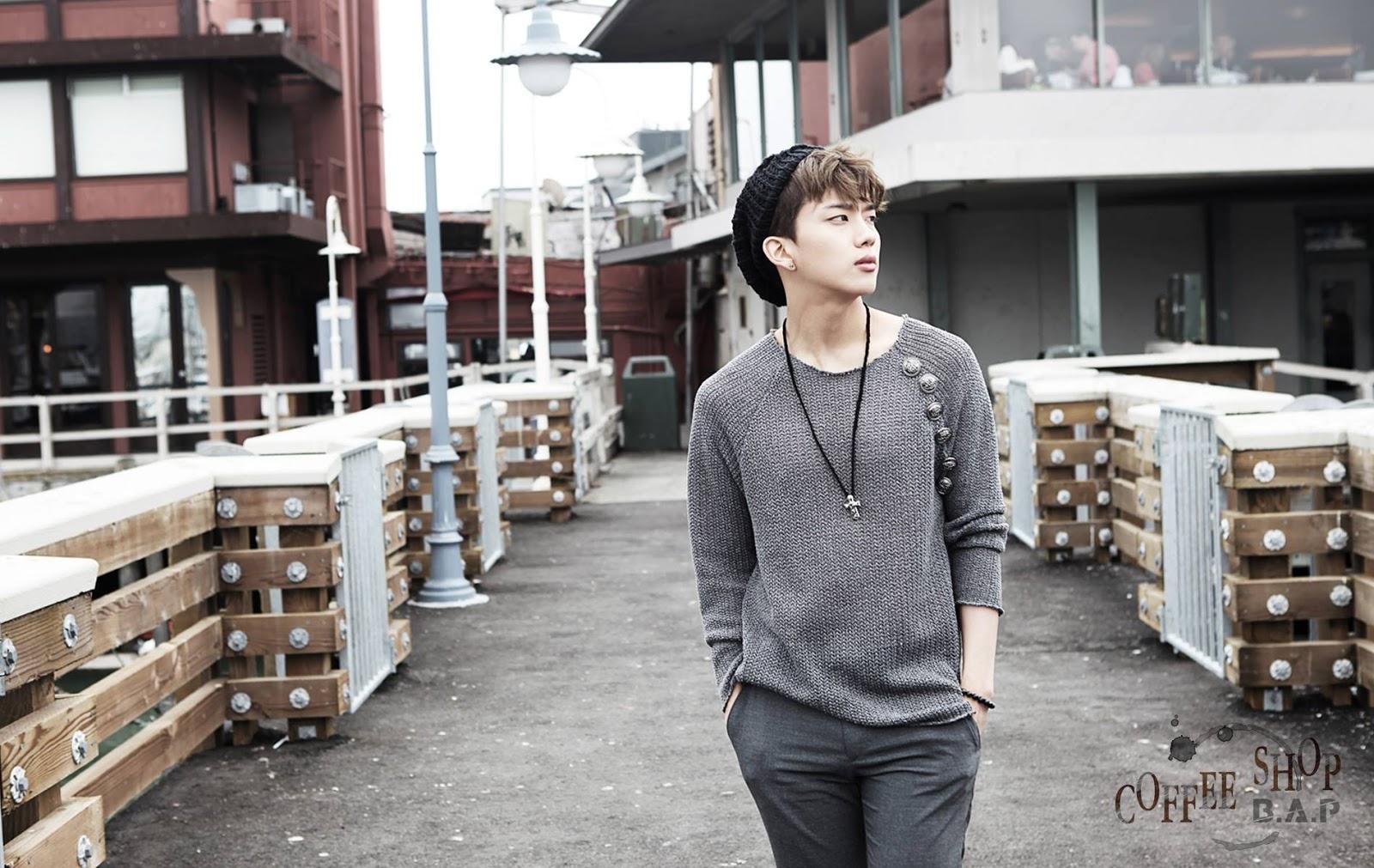 K-POP: B.A.P - Coffee Shop (Photoshoot)