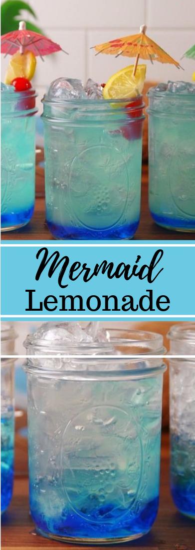 Mermaid Lemonade #drink #dessert