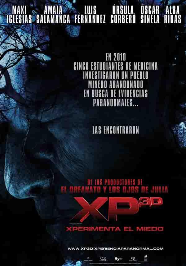 Segundo teaser poster de XP3D