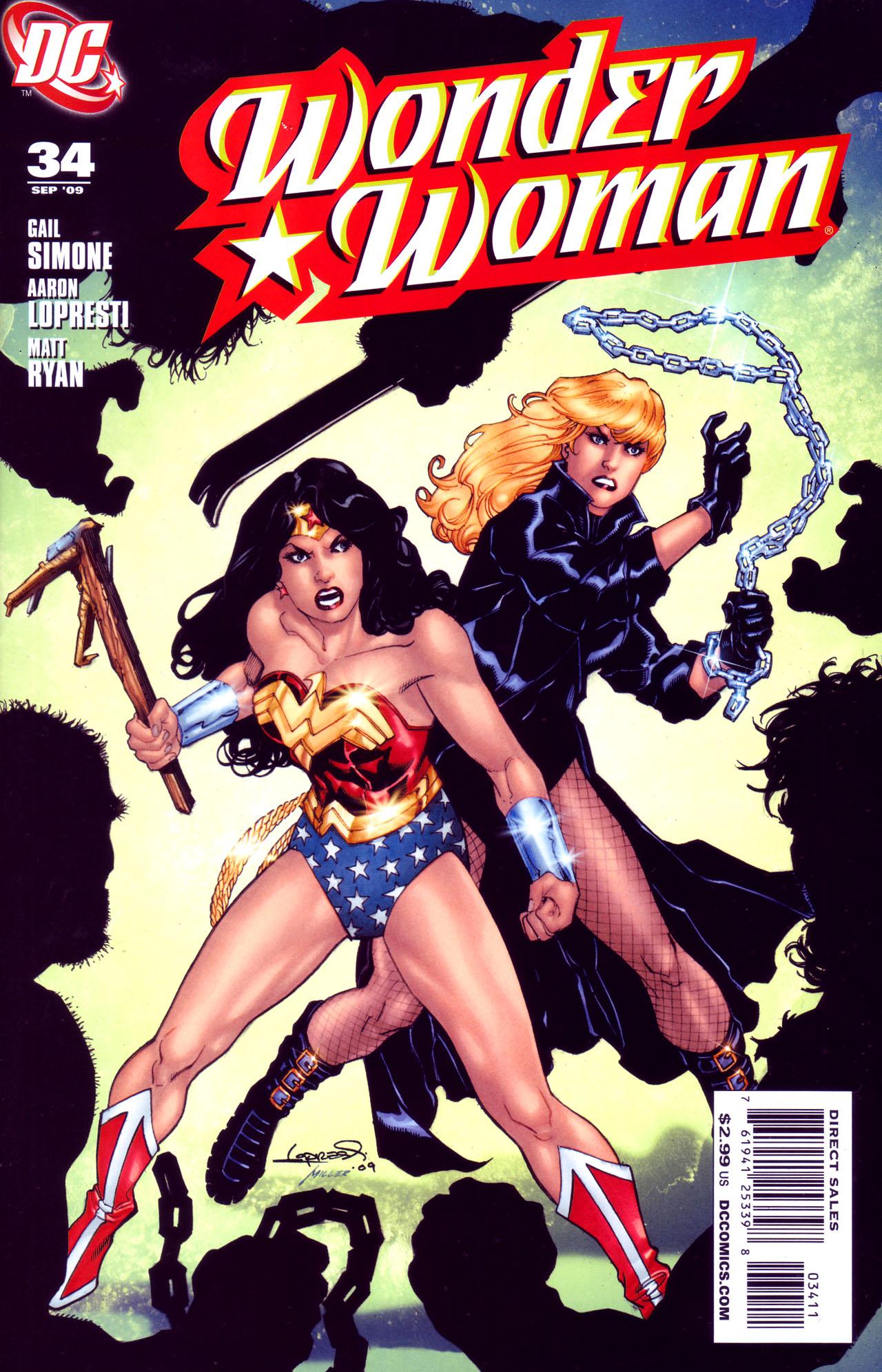 Read online Wonder Woman (2006) comic -  Issue #34 - 1