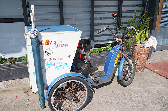 DSC06172 - 梧棲麵包店│從騎三輪車擺攤沿街叫賣到開店面的三輪車麵包坊