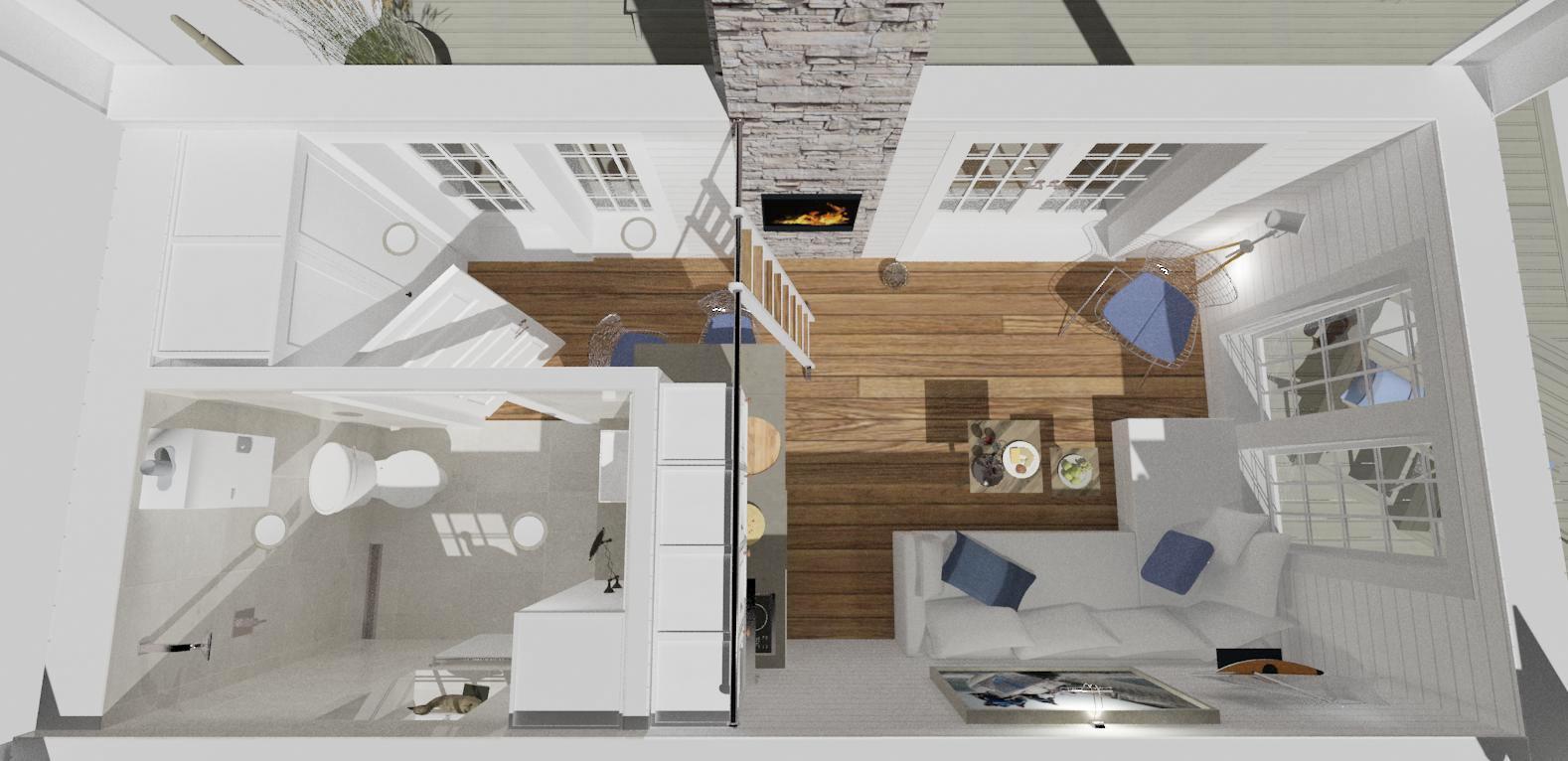 Minimalist apartment loft: appealing apartment interior design ...