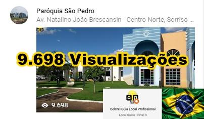Paróquia São Pedro - Sorriso - MT