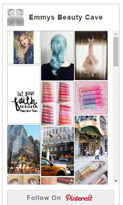 Pinterest widget for bloggers