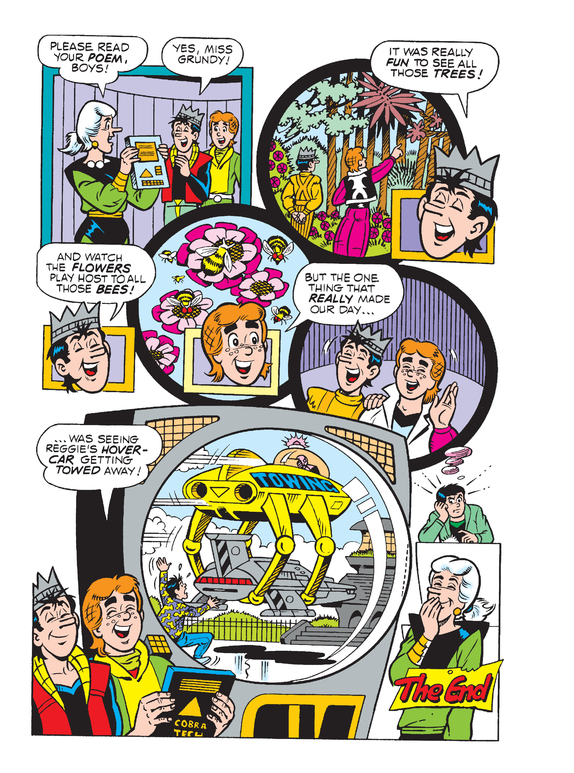 Read online World of Archie Double Digest comic -  Issue #64 - 136