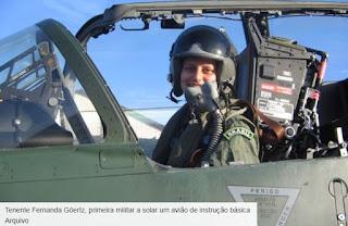 tenente fernanda goertz - Carreira nas Forças Armadas atrai mais mulheres