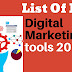 List of FREE Best Digital Marketing/SEO Tools 2018