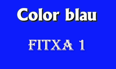 Color blau (fitxa 1)