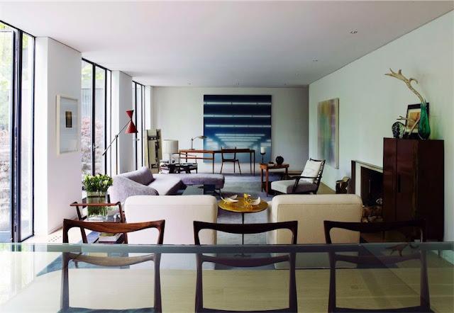 interior estilo Mid-Century en Toronto chicanddeco