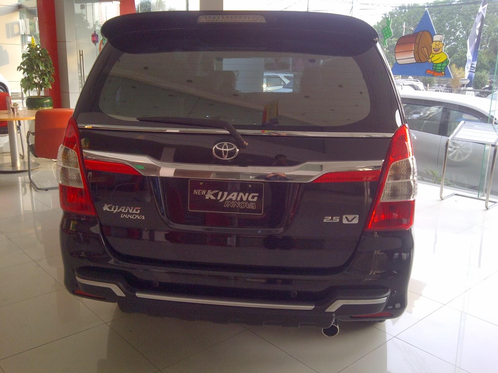 All New Kijang Innova 2013 Lampu Stop Grand Veloz Toyota Auto2000 Soekarno Hatta Bandung Rush