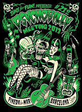 21st PSYCHOBILLY MEETING 2013 • Pineda de Mar Official T-shirt