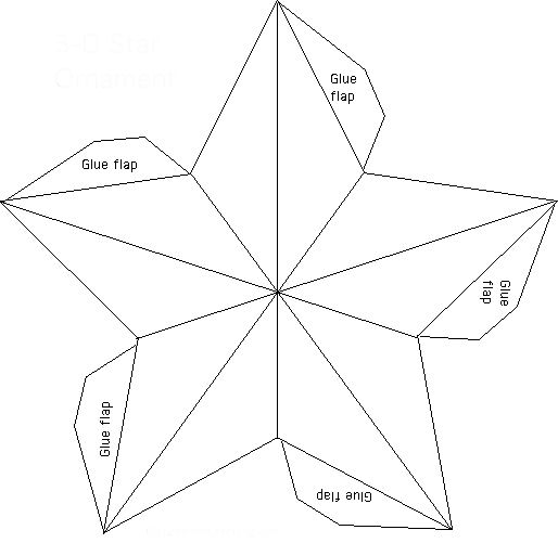 How To Make A Paper Star Lantern Supplies For Making Paper