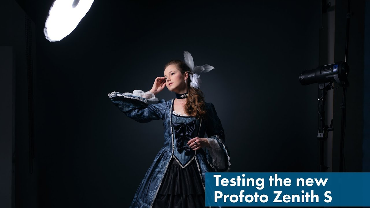 Testing the New Profoto Zenith S: Parabolic light modifier
