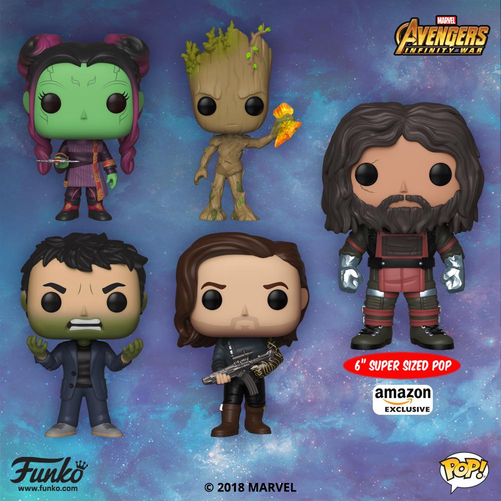The Blot Says...: Avengers: Infinity War Pop! Series 3 Vinyl Figures ...