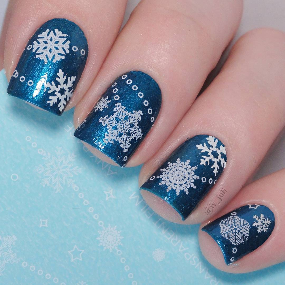 Born Pretty Store Blog: Christmas Nails-Gifts As Beautiful As They ...