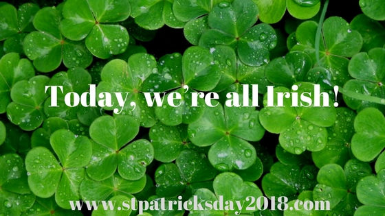 St Patrick's day 2018 drinking quotes