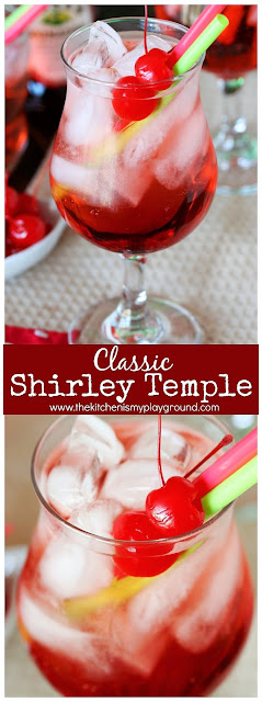 Shirley Temple Drink Photo