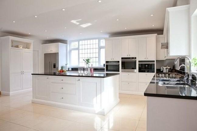 White Color Kitchen Design Ideas