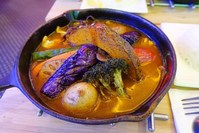 有機新鮮蔬菜素湯咖哩