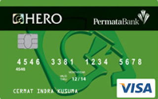 Design Kartu Kredit Permata Hero Card Classic